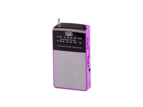 Travel Mini Pocket FM//AM radio • Portable /& Compact • includes Earphones