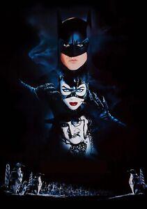BATMAN-RETURNS-Movie-PHOTO-Print-POSTER-Film-1992-Tim-Burton-Textless-Glossy-001