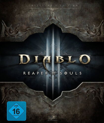 1 von 1 - Diablo III Reaper Of Souls - Collector's Edition (PC/Mac, 2014) deutsch Sammler