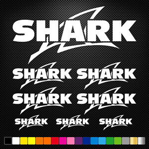 Compatible-SHARK-8-Stickers-Autocollants-Adhesifs-Moto-Voiture-Sponsor-Marques