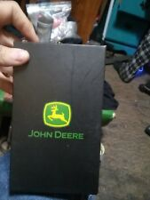 4054000-200 Brown John Deere BiFold Wallet w//Stitched Patch