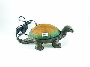 Lampe De Détails Forme Maison Dinosaure En Portable Chevet Sur Vintage Contribution Laiton cR5A43qjL