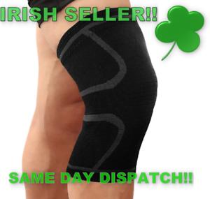 Knee-Support-Compression-Sleeve-Elastic-Nylon-Sport-For-Sports-Irish-Stock
