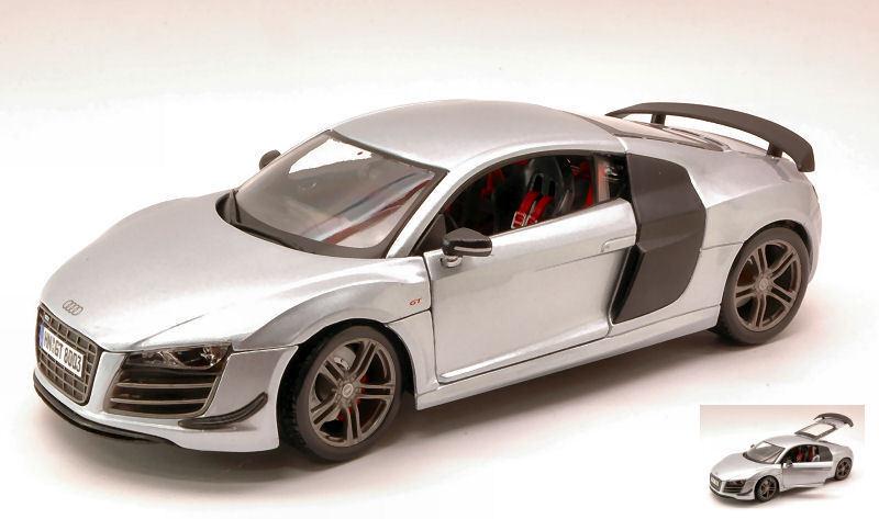 el más barato Audi Audi Audi r8 gt3 plata 1 18 Model maisto  nueva gama alta exclusiva