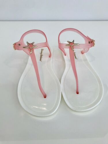 White Nwts Tfw00194 Jelly Maat Tommy Bahama Sandals Starfish Blush Flop 8 4qRwwE7