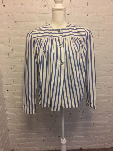 Angela Holmes Droopy & Browns VTG 80s Blouse Cotto