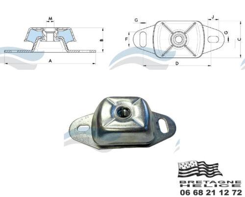 Motorhalter Generisch Typ Metalastik 17-1657 230 X 112 X 71 MM