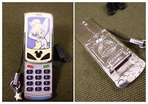 Pin Disney Slider Cell Phone Tinker Bell Trading 2009 Dlr Paris Ebay