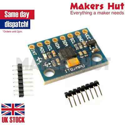 3-Axis GY-521 MPU-6050 Gyroskop Accelerometer module for Arduino Raspberry Pi