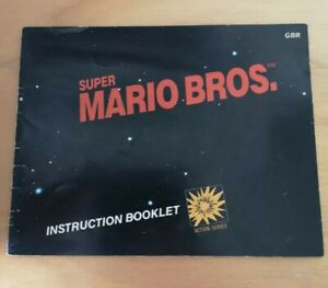 Super-Mario-Bros-Nes-Nintendo-manuel-livret-instructions-UK-PAL