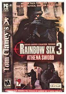 Tom-Clancy-039-s-Rainbow-Six-3-Athena-Sword-Pc-New