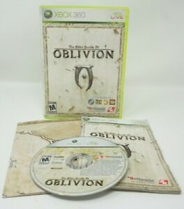 The-Elder-Scrolls-IV-Oblivion-Xbox-360-Complete-W-Map-and-Instruction-Book