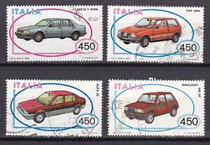 ITALIA-REPUBBLICA-ITALIA-1985-II-EMISSIONE-COSTR-AUTOMOBILISTICHE-ITALIANE-USAT