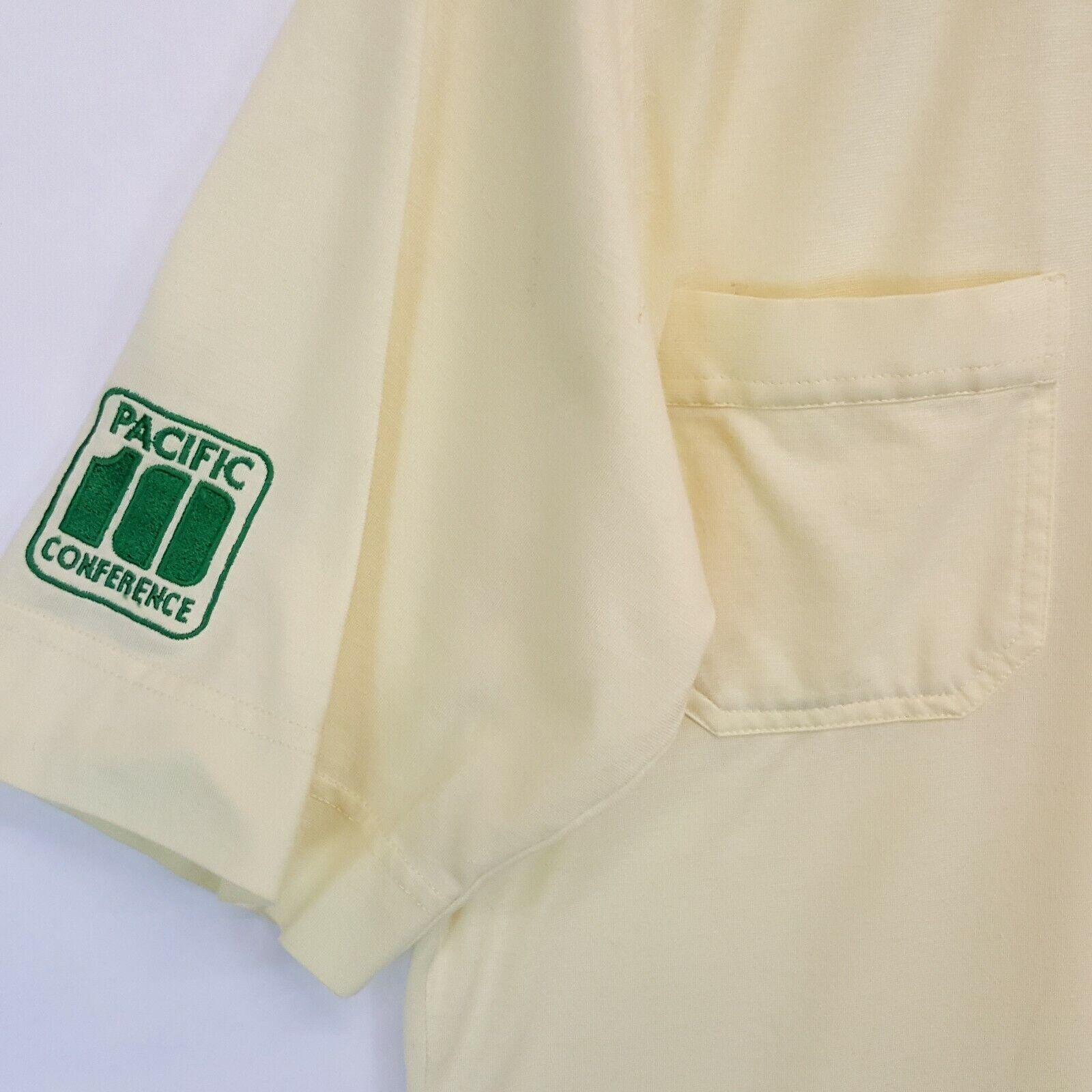 VTG 80s UO Oregon Ducks Antigua Pac 10 Polo Shirt… - image 2