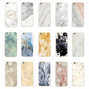 Ultra-Thin-Shockproof-Marble-Stone-Granite-Rock-Soft-TPU-Case-Cover-For-iPhone