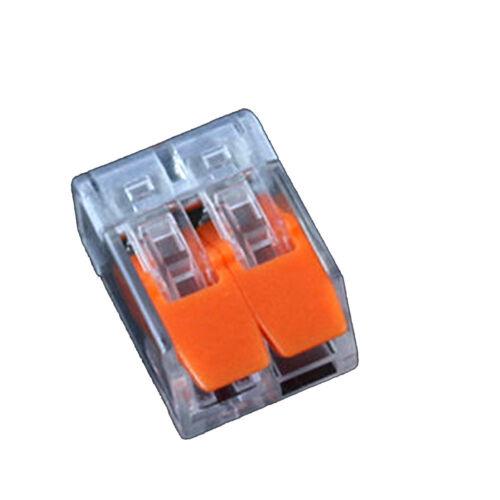2//3//5 connettori elettrici Filo Blocco Morsetto terminale cavo 12V 240V Multi Pack