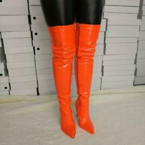 Womens Over the Knee Boots Thigh High