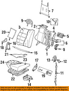 Image Is Loading Cadillac GM OEM 97 99 Catera Front Seat