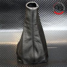 PEUGEOT 207 CC HDI GTI SW GLX XS L BLACK LEATHER GEAR STICK KNOB COVER GAITER