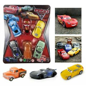 6x Colorful Mini Car Model Cute Small Trunk Alloy Toy Kid Child Gift Home Decor