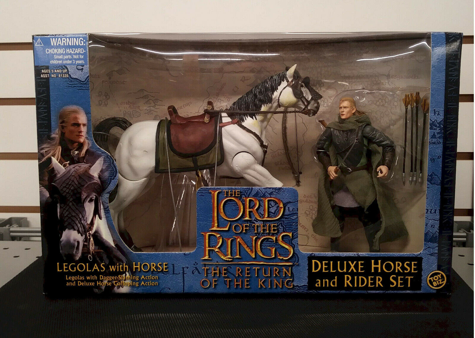 Legolas Deluxe Horse & Rider Figure Set {Lord {Lord {Lord o t Rings Return o t King} MIP  9bf467