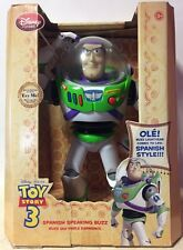Toy Story 3 Disney Store SPANISH Speaking Buzz Lightyear (Dual Spanish/English)