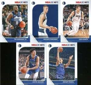 2019-20-Panini-NBA-Hoops-Dallas-Mavericks-Team-Set-of-10-Cards-Luka-Doncic-39