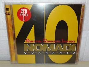NOMADI - NOMADI40 - 2 CD
