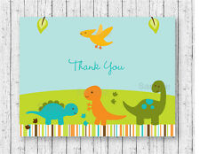 Baby Dinosaurs Thank You Card Printable
