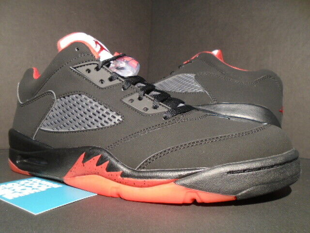 f7a169e76d7 Nike Air Jordan 5 Retro Low Alternate 90 Bred Gym Red 11 DS 819171 001 for  sale online | eBay