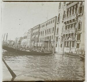 Venezia Italia Foto Placca Da Lente Stereo K3 Vintage Ca
