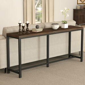 Long Narrow Entryway Hallway Table For