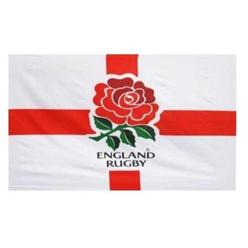 5ft x 3ft Polyester National Flag England Rugby World Cup Flag RFu Crest Flag