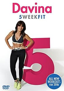 Davina-5-Week-Fit-Wieight-Loss-Workout-Fitness-Exercise-Training-2016-NEW-UK-DVD
