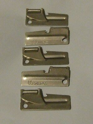 Brand New Pack of 5 Original Military Issue P38 Can Opener US Shelby Co. Made