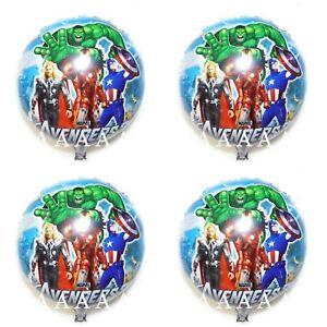 MARVEL-Avengers-Hulk-Super-Eroe-x-4-Palloncini-Elio-Festa