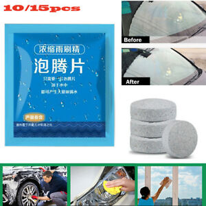 15PCS-Auto-Car-Windshield-Glass-Wash-Cleaning-Concentrated-Effervescent-Tablet-D