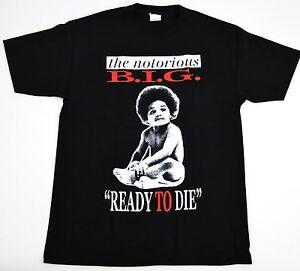 161ab577 NOTORIOUS B.I.G T-shirt Biggie Smalls Ready To Die Tee Men S,M,L,XL ...