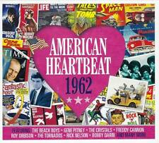 AMERICAN HEARTBEAT 1962  (NEW SEALED 2CD) Elvis Presley-Ricky Nelson-Bobby Darin
