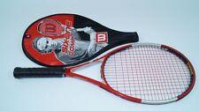 Wilson Six. One COMP Racchette da tennis l2 Racchetta staff 98 Tour Strung Racquet BLX