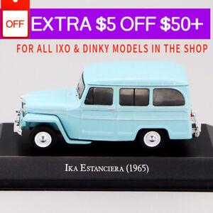 1-43-IXO-Ika-Estanciera-1965-Azul-Die-cast-Modelo-de-Auto-Rara-Coleccion