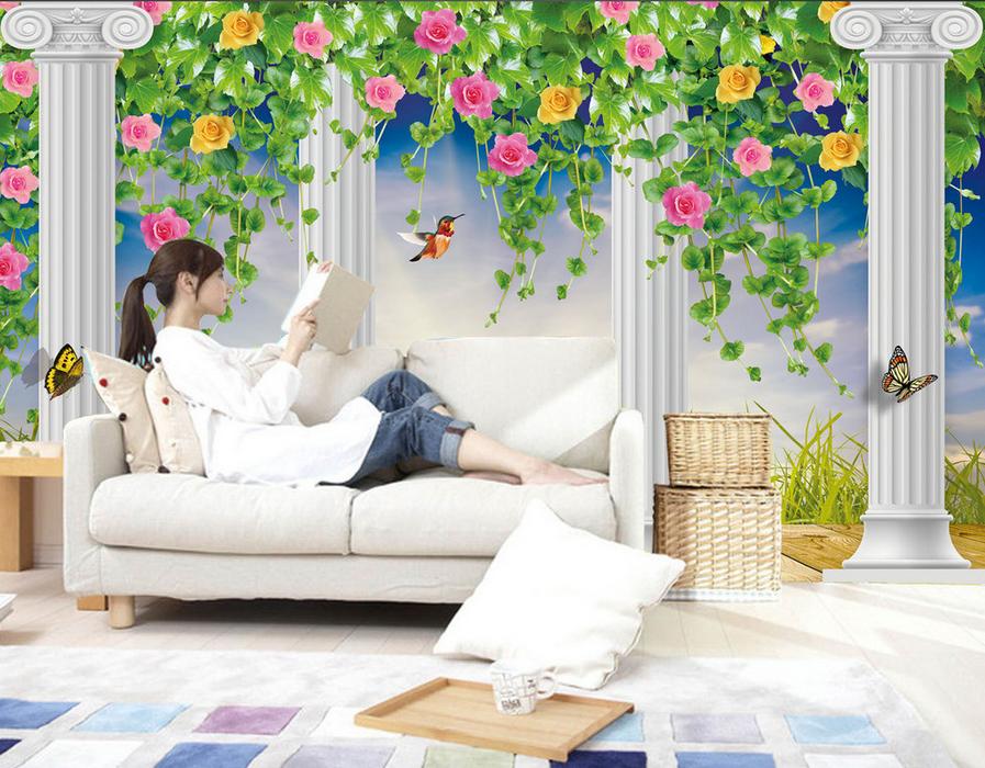 3D Wunderland 9643 Tapete Wandgemälde Tapete Tapeten Bild Familie DE Summer | Flagship-Store  | Spielen Sie Leidenschaft, spielen Sie die Ernte, spielen Sie die Welt  | Vogue