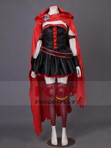 Rwby Vol 4 Season 4 Ruby Rose Cosplay Costume Outfits Mp003350 Ebay