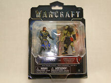 Warcraft Mini Figure 2-Pack Lothar vs. Horde Warrior Neu OVP