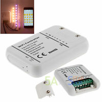 Wireless Wifi Rgb Led Strip Light 5 Channels Controller For Ios Android 12v 24v