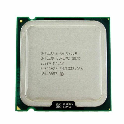 Intel Core 2 Quad  Q8300 Q8400 Q9400 Q9500 Q9550 Q9650  Processor LGA 775 CPU