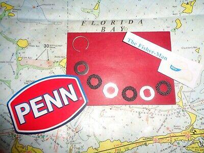 Penn 710 710Z 712 712Z Drag Washer Set nouvelle Penn partie 56-710SP pour 4500SS 5500SS