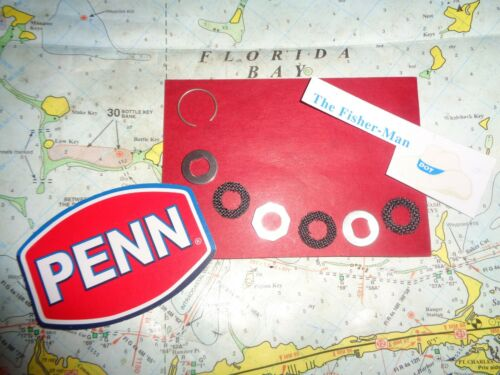 pour 710Z 712Z 710 Penn 4500SS 5500SS Drag Washer Set nouvelle Penn partie 56-710SP