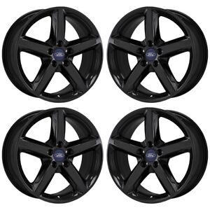 Image Is Loading 18 034 Ford Explorer Xlt Gloss Black Wheels