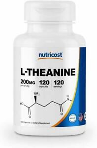 L-Theanine-200mg-DOUBLE-STRENGTH-120-Caps-PREMIUM-QUALITY-STOCK-in-Sydney-NOW